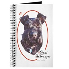 Giant Schnauzer Cameo Journal