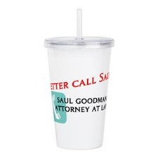 Better Call Saul Acrylic Double-wall Tumbler