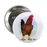 Red Broiler Rooster Button