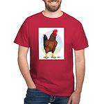 Red Broiler Rooster Dark T-Shirt