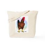 Red Broiler Rooster Tote Bag