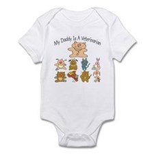 My Daddy Is A Veterinarian Baby/Toddler bodysuit