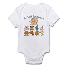 My Daddy Is A Surgeon Cute Baby/Toddler bodysuit