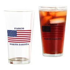Fargo North Dakota Drinking Glass