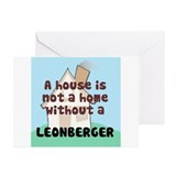 Leonberger Home Greeting Cards (Pk of 10)