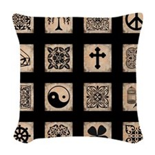 MY FAVORITE THINGS Woven Throw Pillow