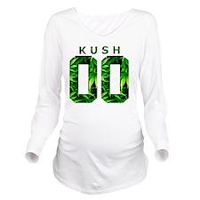 Kush and Corinthians Long Sleeve Maternity T-Shirt