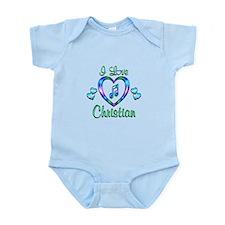 I Love Christian Infant Bodysuit