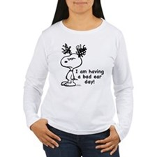 Snoopy: Bad Ear Day Women's Long Sleeve T-Shirt