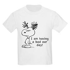 Snoopy: Bad Ear Day Kids Light T-Shirt