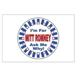 Mitt Romney for President Large Poster