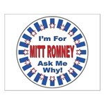 Mitt Romney for President Small Poster