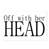 Off WIth Her Head Postcards (Package of 8)