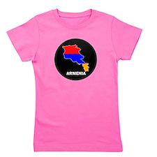 Cute Armenia flag Girl's Tee