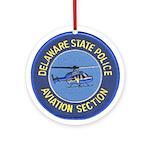 Delaware SP Aviation Ornament (Round)
