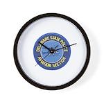 Delaware SP Aviation Wall Clock