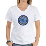 Delaware SP Aviation Women's V-Neck T-Shirt