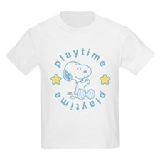 Snoopy Playtime - Blue T-Shirt