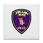 Redlands PD SWAT Tile Coaster