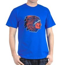 INDIAN CHIEF Blue Tee Shirt