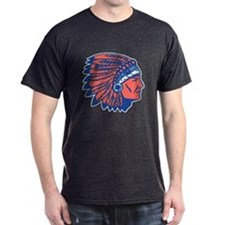 INDIAN CHIEF Charcoal Grey T-Shirt