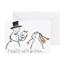 Frosty Gets an Idea: Greeting Cards (Pk of 10)