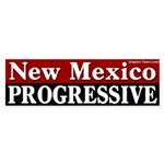 New Mexico Progressive Bumper Sticker
