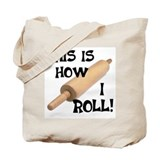 Rolling Pin Tote Bag