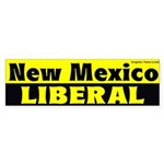 New Mexico Liberal Bumper Sticker