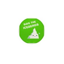 Save the Icebergs Mini Button (100 pack)