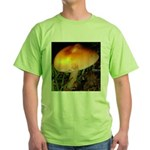 Golden Umbrella Green T-Shirt