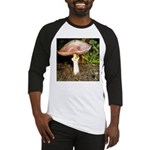 Large and small mushrooms Baseball Jersey