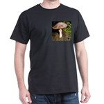 Large and small mushrooms Dark T-Shirt