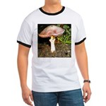 Large and small mushrooms Ringer T