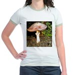 Large and small mushrooms Jr. Ringer T-Shirt