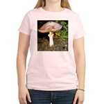 Large and small mushrooms Women's Light T-Shirt