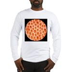 Spongy Cap Mushroom 20X Long Sleeve T-Shirt
