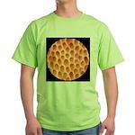 Spongy Cap Mushroom 20X Green T-Shirt