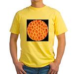 Spongy Cap Mushroom 20X Yellow T-Shirt