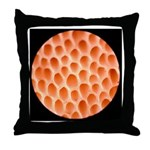 Spongy Cap Mushroom 20X Throw Pillow