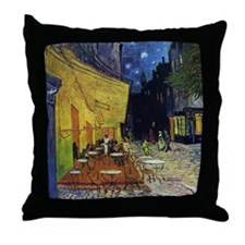 Cafe at Arles Throw Pillow