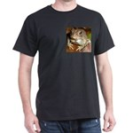 King Toad On Toadstool Throne Dark T-Shirt
