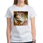 King Toad On Toadstool Throne Women's T-Shirt
