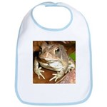 King Toad On Toadstool Throne Bib