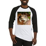 King Toad On Toadstool Throne Baseball Jersey