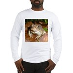 King Toad On Toadstool Throne Long Sleeve T-Shirt