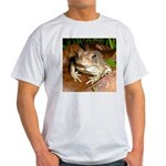 King Toad On Toadstool Throne Light T-Shirt