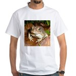 King Toad On Toadstool Throne White T-Shirt