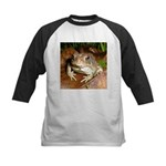 King Toad On Toadstool Throne Kids Baseball Jersey