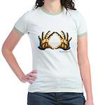 Diamond Cutter Logo Jr. Ringer T-Shirt